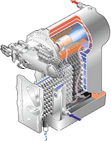 Kesselkörper von Weishaupt für ein effizientes Brennwertsystem